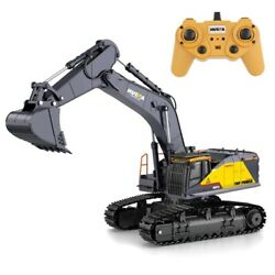 Huina 593 1592 Rc Excavator 1/14 Model 22ch Truck 2.4g Remote Control Kid Rc Toy