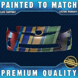 New Painted To Match Front Bumper Cover For 2010 2011 Toyota Prius W/park And Wash