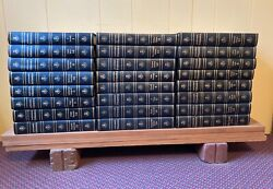Encyclopedia Britannica, Set Of 24. 1964 Edition With Leather Spine.