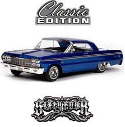 Redcat Racing Sixtyfour Classic Edition 1/10 Rtr Hopping Lowrider Rc Car Blue