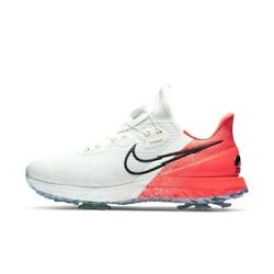 Nike Air Zoom Infinity Tour Boa Golf Shoes White Red Cv0756-124 Size 7-12 Wide