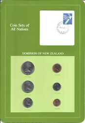 Coins Of All Nations - Urugay -6 Coin Set - 1982,1983 Coan 75