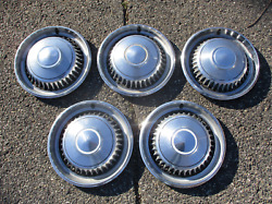 Factory Lot Of 1968 Chevy Impala 14 Inch Hubcaps Wheel Covers