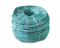 Cwc 8 Braid Blue Steelandtrade Rope - 1-1/4 X 600and039 Teal W/dk Blue Tracer