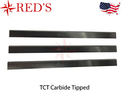 16-1/8 X 1 X 1/8 Tct Carbide Planer Jointer Knives Blades Jwp-160s