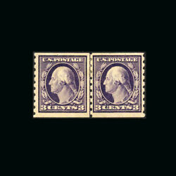 Us Stamp Regular Issues Mint Og And H S394 Vf Line Pair