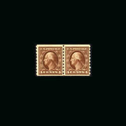 Us Stamp Regular Issues Mint Og And H S395 Vf Line Pair