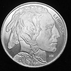 Indian Head/buffalo Hm 2013 - Roll Of 20 -1 Troy Oz Silver Rounds - Beauties