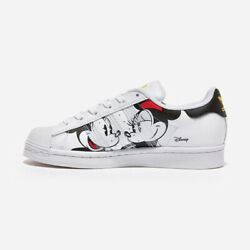 Adidas X Disney Superstar - White Black / Gw2249 / Mickey Mouse Shoes Sneakers