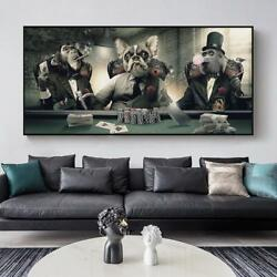 Modern Smoking Glasses Music Hip Hop Monkey Large Poster Wall Art Pictures Print