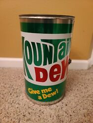 Rare Vintage Mountain Dew Big Can -do Barbeque Grill And Smoker. Never Used