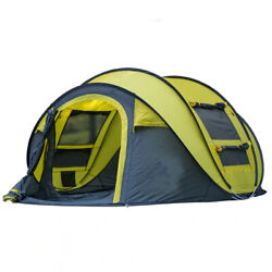 Outdoor Tent Camping Throw Pop Up Tent High Quality Waterproof Travel Camping