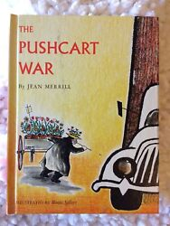 The Pushcart War By Jean Merrill 1964 Young Scott Books 1st Ed. Signed
