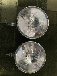 Headlight Sev Marchal - 1 Pair Starlux 700 White Brand New- Made In France