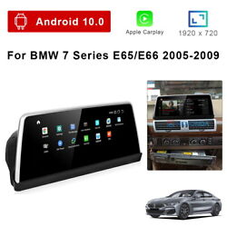 8-core Android 10 Car Gps Unit Player Wireless Carplay For Bmw 7 Series E65 E66