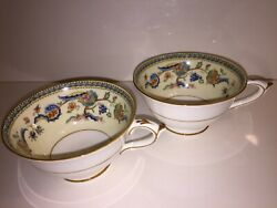 Paragon Fine Bone China Lot Of 2 Tea/coffee Cups Excellent