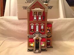 Dept. 56 Presents Finklea's Finery Costume Shop.with Light