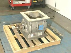 """12"""" X 12"""" Mac Rotary Valve Model Md-75 Stainless Steel"""