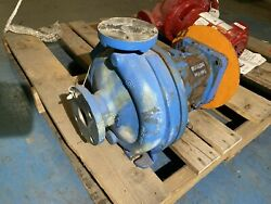 1.5andrdquo X 3-6andrdquo Goulds Model 3196 Stainless Steel Pump Used