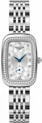 Longines Equestrian Collection Diamond Silver Dial Womenand039s Watch L6.142.0.77.6