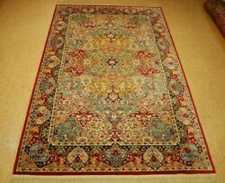Mint Authentic American Karastan Multicolored Rug 5and039 9 X 9and039 Persipan Panel790