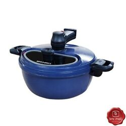 Lamp Cook Hs-0010 Automatic Rotating Cooking Pot Ceramic Coating Indoor/outdoor