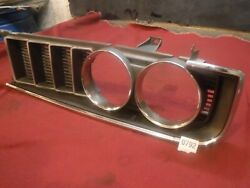 1971-72 Toyota Corona Coupe Left Side Grill Rt95 Grille 71 1972