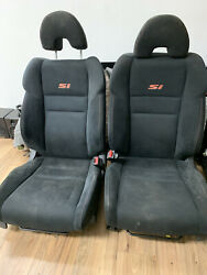 06-11 Honda Civic Si 2d Coupe Front Seat Set Seats - Left And Right Factory Oem