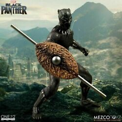 Black Panther Mezco Toyz One12 Collective Action Figure 112 Scale Marvel Mcu