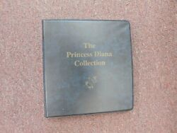 The Princess Diana Collection Mystic Stamp Co. Stamps In Binder - 50 Sheets