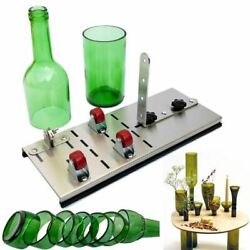 Glass Cutter Professional Wine Beer Bottles Cutting Machine Wood Working Tools