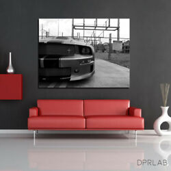 24 X 36 | Electric Mustang By Dprlab | 2021 Advertising | 300 Prints