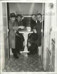 1941 Press Photo 1 Of 50 Trailers Used As Emergency Housing For Defense Workers