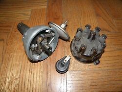 Nos Sev 8 Cylinder Distributor Delage D8-120 Cap And Rotor French Ford