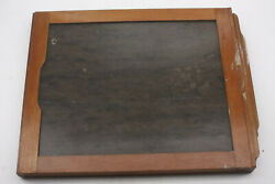 8x10 Glass Plate Large Format Film Holder Rochester Od 20x250x302mm Used Lf423