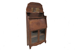 Antique Secretary Desk And Bookcase With Eastlake Styling
