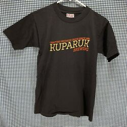 Conoco Phillips Alaska Prudhoe Bay Kuparuk Brewing T-shirt Menandrsquos Size Small