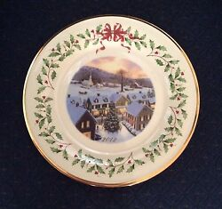 Lenox 2012 Annual Holiday Christmas Collector Plates Set Of 30 New With Tag