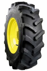 Two 11.2x24 R-1 6 Ply John Deere 750 850 Tractor Tires Wheels With Centers