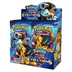 Pokemon Tcg Card Game Xy Evolutions Booster Box - 36 Packs - Factory Sealed
