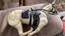 Lone Ranger Vintage Doll Set With Horses
