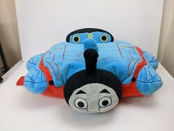 Thomas amp; Friends Train Plush Pillow Pets Large 18quot;x13quot; 2011 USED