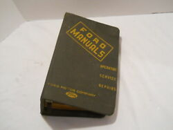 Ford Manuals 1938-47 '44 Truck '46 Cars And Trucks '49-50 Cars And Trucks