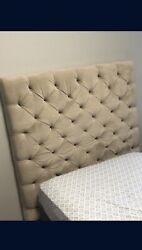 Twin Bed Includes Headboard, Rails, And Springs