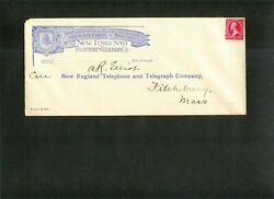 Us Entire Return Add. New England Telephone And Telegraph Co. Stamp 250 Tri C
