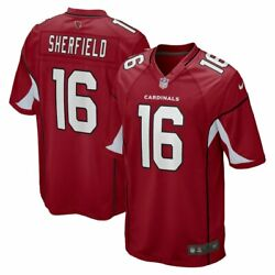 Arizona Cardinals Trent Sherfield Nike Menand039s Official Nfl Player Game Jersey