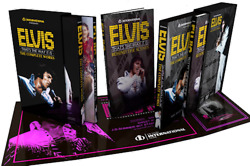 Elvis Presley The Complete Works 400 Page Book + 3 Dual Layer Dvds + 6 Cds