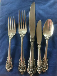 Wallace Grand Baroque Sterling Silver 12 Place Setting