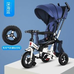 Foldable Baby Trolley Stroller Landscape Carrier Car Seat Pushchair Jogger Buggy