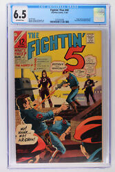 Fightinand039 Five 40 - Charlton 1966 Cgc 6.5 Origin And 1st App Of Peacemaker